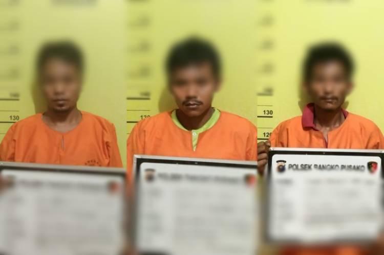 Saat Lakukan KRYD, Polisi Amankan 3 Pria Terkait Sabu di Rohil