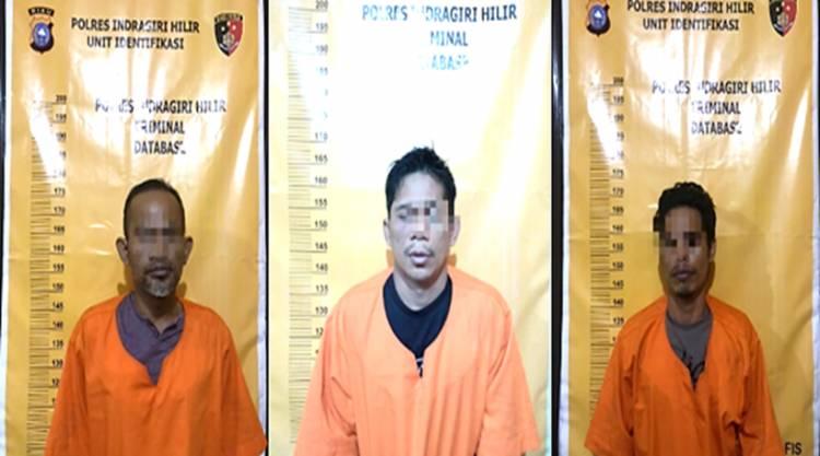 2 Pelaku Curat dan Seorang Penadah Berhasil Ditangkap Aparat Polsek Kateman