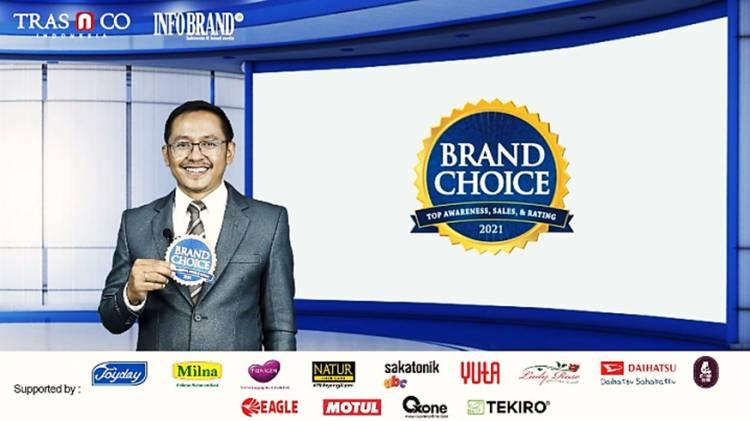 Ini Daftar Jajaran Brand Pilihan Konsumen yang Meraih Brand Choice Award 2021