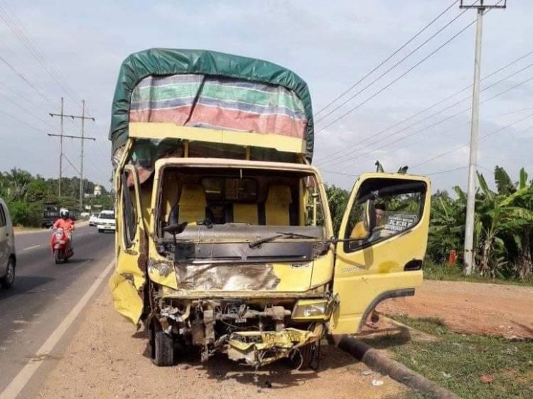 Kecelakaan Maut di Balam, 3 Tewas dan 8 Luka-luka