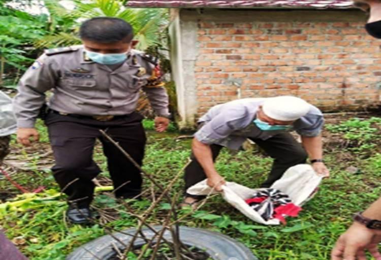 Sehari Jelang Lebaran, Bayi Laki-laki Ditemukan Dibuang di Desa Kotabaru Seberida, Inhil