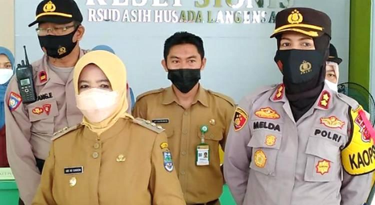 Kapolres Banjar bersama Walikota Banjar Tinjau Kesiapan RS Asih Husada Pasca Lebaran