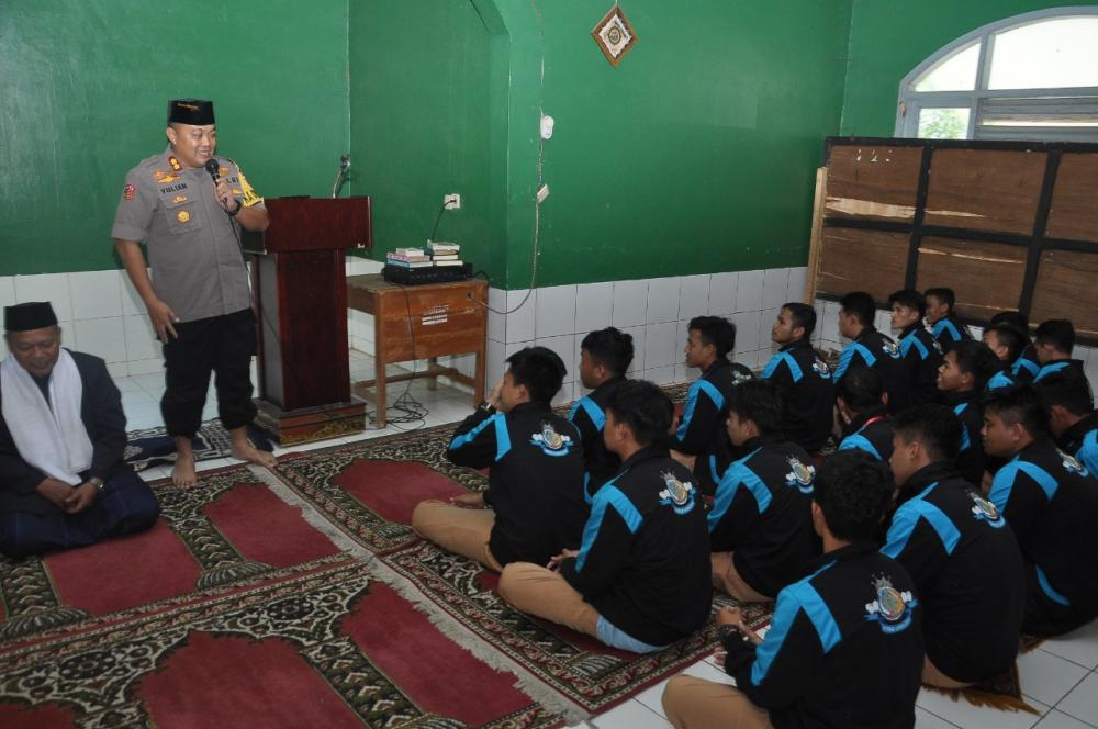 Kapolres Banjar didampingi Ketua Yayasan Bhayangkari Kunjungi Pengurus FKUB Banjar