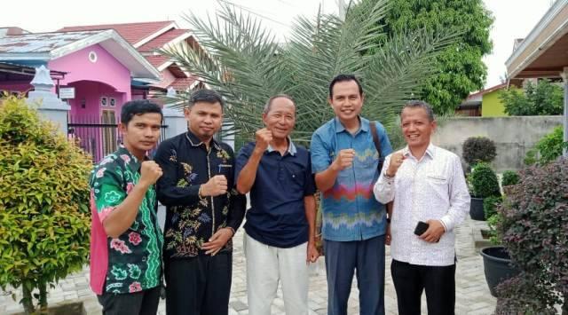 Pengurus Dewan Da'wah Kampar, Silaturrahim Kerumah Ketum DDII Riau