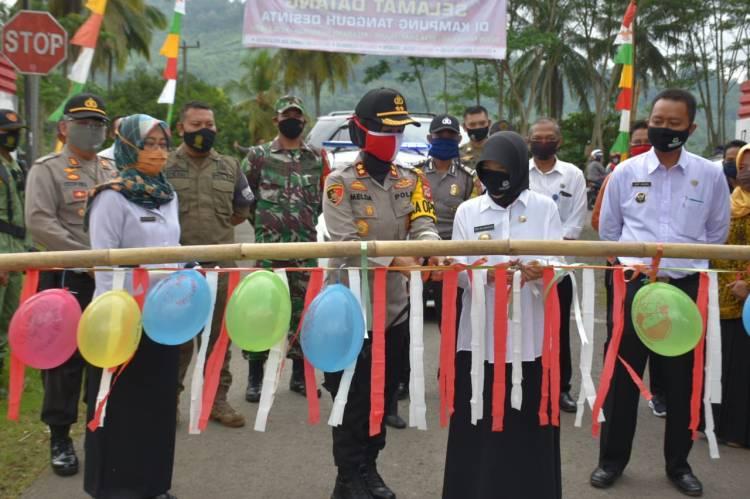 Peresmian Kampung Tohaga Lodaya Di Wilayah Hukum Polres Banjar