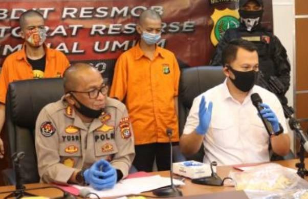 Polda Metro Jaya Meringkus Dua Pelaku Curat,Yang Satunya Ternyata Homo