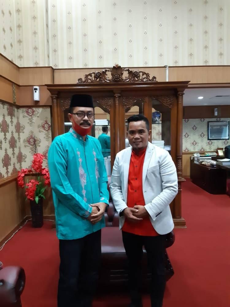 Pertemuan Ketum dan Pembina Forum Kerajinan Tangan dan Karya Seni Riau