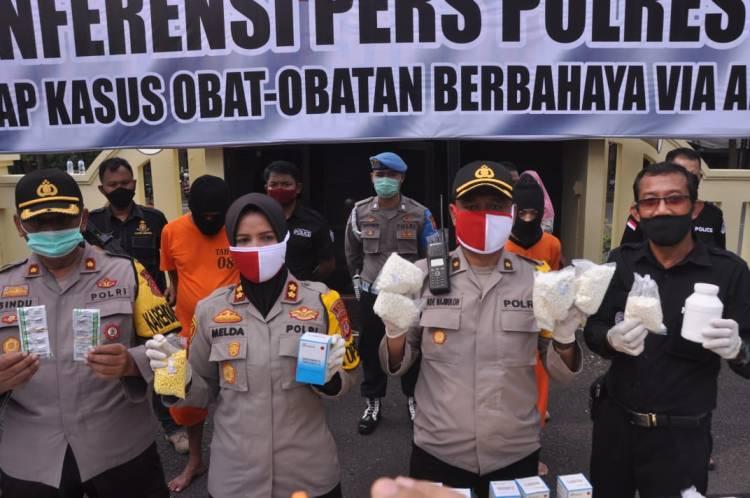 Jajaran Satnarkoba Polres Banjar Berhasil mengamankan bandar besar obat-obatan ilegal.