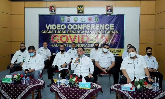 """Bupati HM Wardan Adakan Vidcon Seminar Kelapa""""Strategi Penguatan Kelapa Nasional"""""""