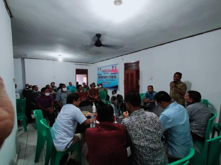 Tokoh Agama Nasrani Pangkalan Kerinci Silaturahmi dengan Balon Bupati Kabupaten Pelalawan H.Husni Thamrin.SH