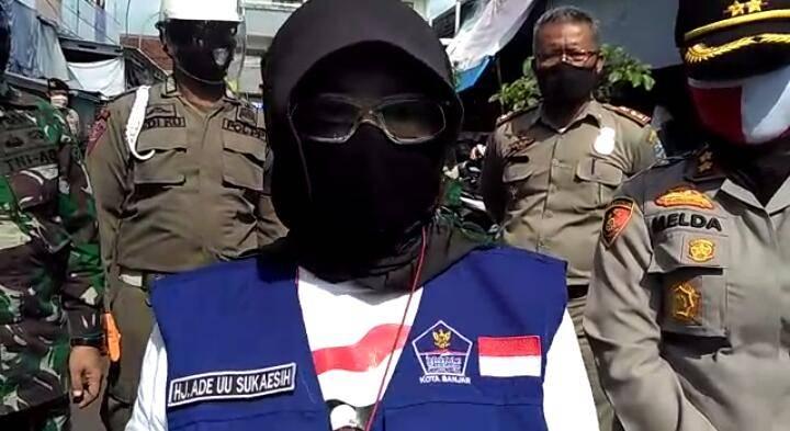 Tes Swab Massal di Pasar Banjar Untuk Memutus Mata Rantai Penyebaran Covid-19