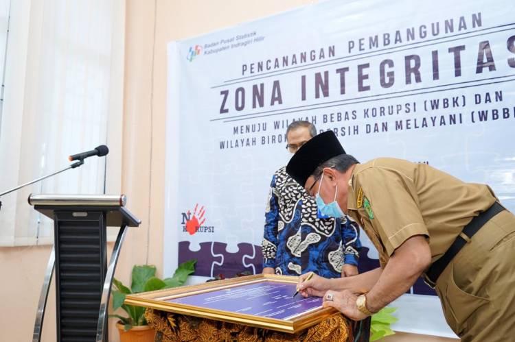 HM Wardan Hadiri Pencanangan Pembangunan Zona Integrasi