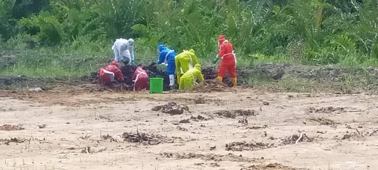 1 Pasien Reaktif di Inhil Asal Teluk Pinag Meninggal