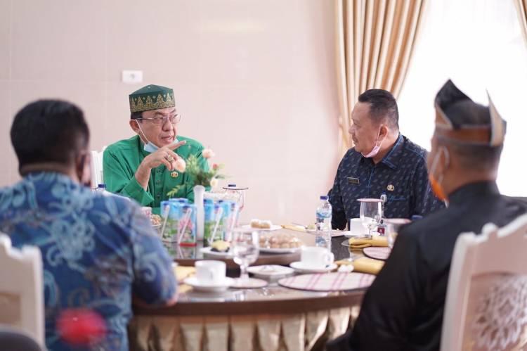 Kadisnakertrans Riau Ajak Perusahaan Peduli terhadap Tenaga Kerja yang ada di Kabupaten Inhil