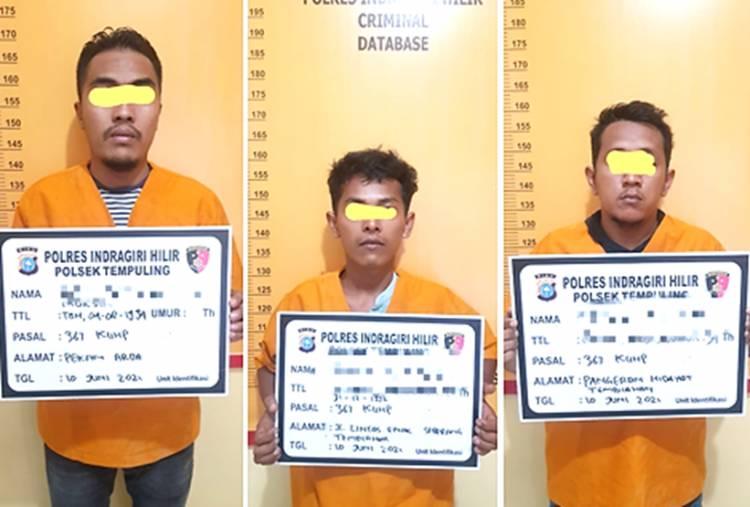 Pencuri Baterai Tower Telkomsel di Inhil Ditangkap Polisi, Pencurinya Ternyata 'Orang Dalam'