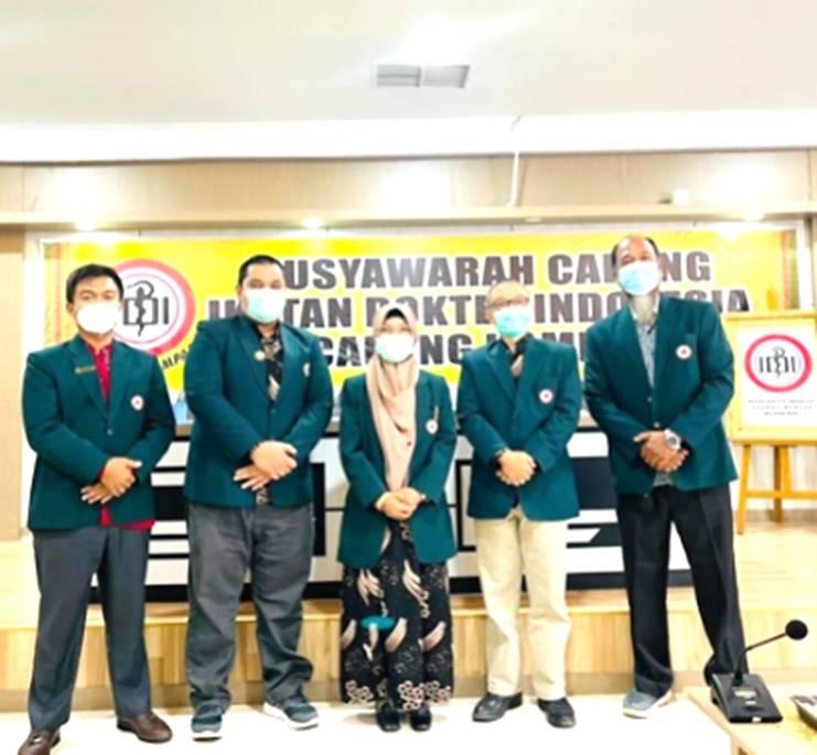 dr. Ari Wirasto Terpilih sebagai 'Nakhoda' Baru IDI Cabang Kampar