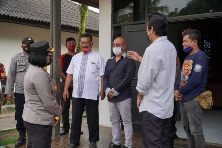 Kapolres Banjar Pimpin Pengamanan Pembayaran Kompensasi oleh PT. APL kepada Karyawan yang Dirumahkan
