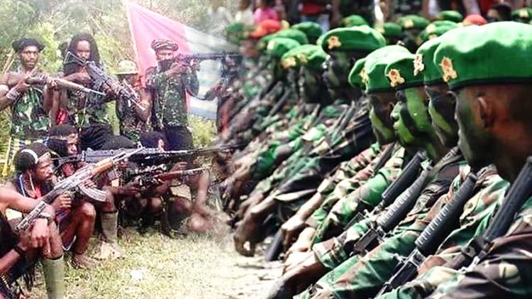 Miliki Senjata Canggih, KKB Papua Kembali Tantang TNI Berperang