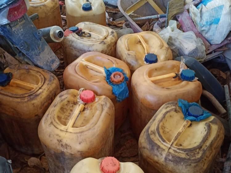 Gelapkan BBM Dexlite, Kerani Gudang dan Anak di Bawah Umur Dilaporkan PT LTS ke Polisi