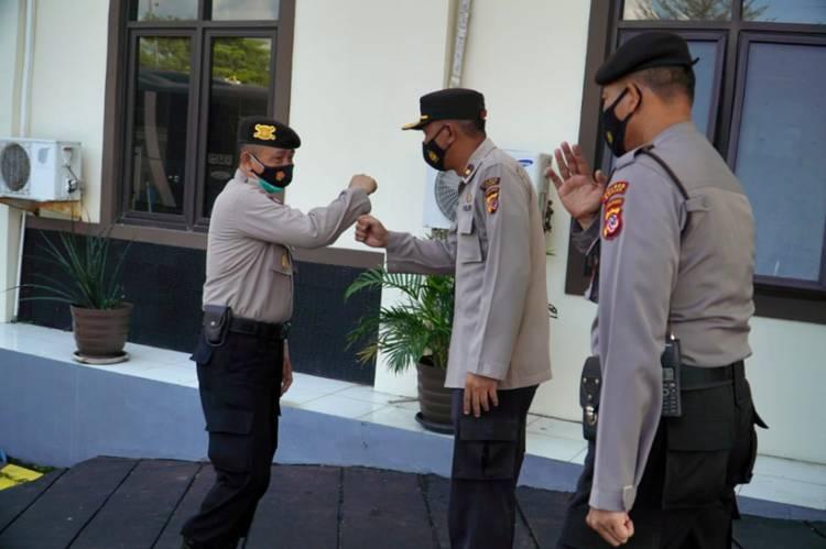 Optimalkan Pelayanan Call Centre 110, Dit Samapta Polda Jabar Supervisi Sarana 110 di Polres Banjar