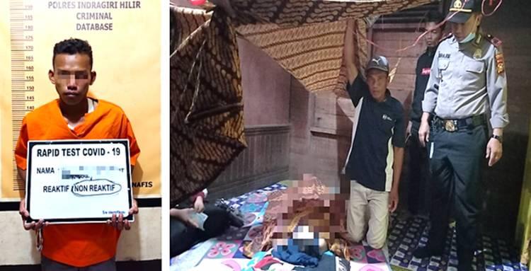 Gagal Disetubuhi, Seorang Pemuda  di Inhil Tusuk Bibinya Hingga Meninggal Dunia