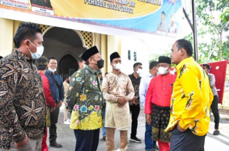 Bupati Kampar Lantik Pengurus IPRY-KK Periode 2021-2022