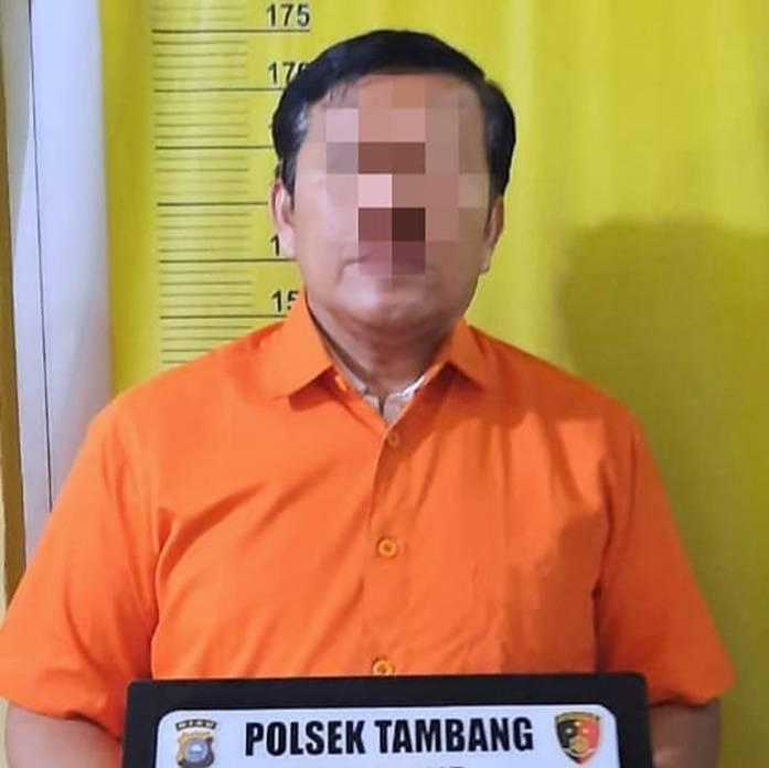 Suami Pelaku KDRT Terhadap Istri Ditangkap Unit Reskrim Polsek Tambang, Kabupaten Kampar