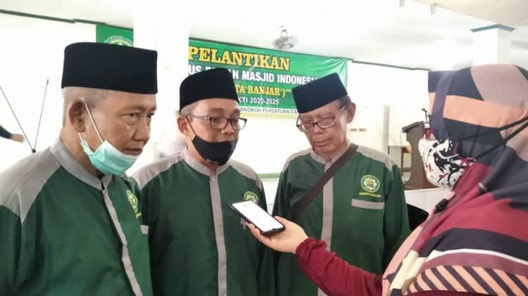 Pengurus Dewan Mesjid Indonesia (DMI) Kota Banjar Akhirnya Dilantik