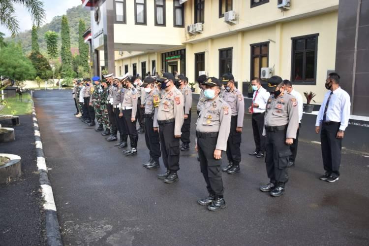 Kapolres Banjar Pimpin Gelar Pasukan Operasi Patuh Lodaya Tingkat Polres Banjar
