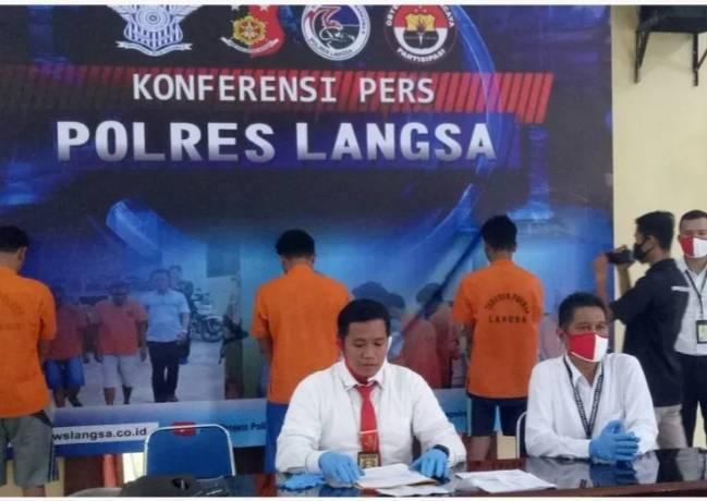 2 pelaku Curanmor diringkus Sat reskrim Polres Langsa