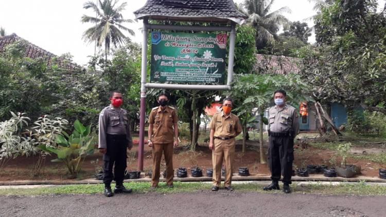 Satuan Binmas Polres Banjar Cek Kesiapan Pembentukan Lembur Tohaga Lodaya di Kel. Situbatu dan Desa Langensari