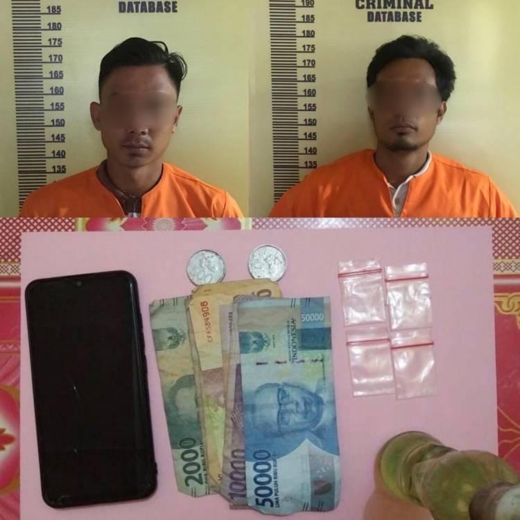Dua Warga Basira Pemuja Sabu di Rohil Diciduk Polisi, Keduanya Positif Amp