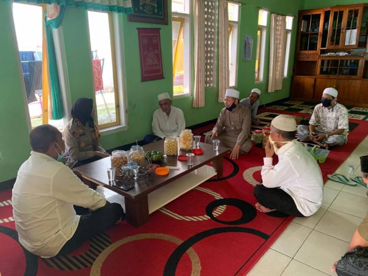 Kapolres Banjar Kunjungi Pondak Pesantren Minhazul Karomah dan Miftahul Ikhsan Al Banjary