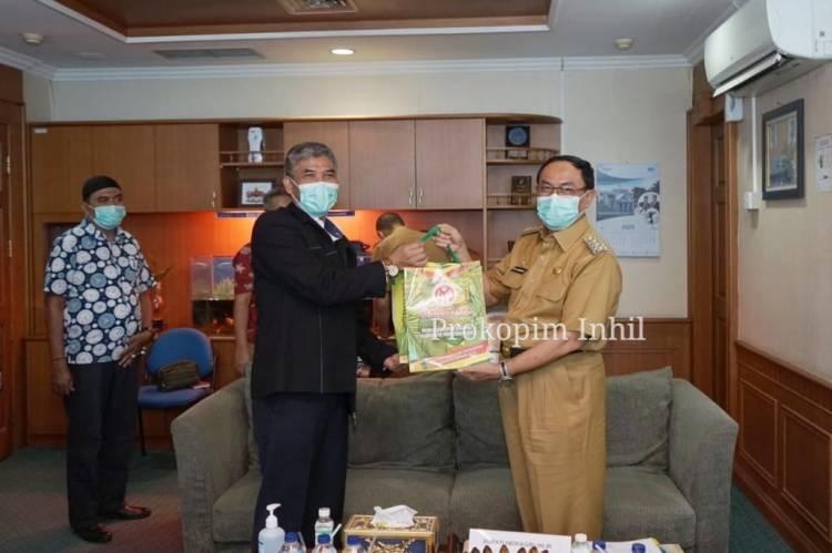 Bupati HM.Wardan Kunjungi PT.Sucofindo Persero, Jalin Kerjasama Tingkatkan Potensi Inhil