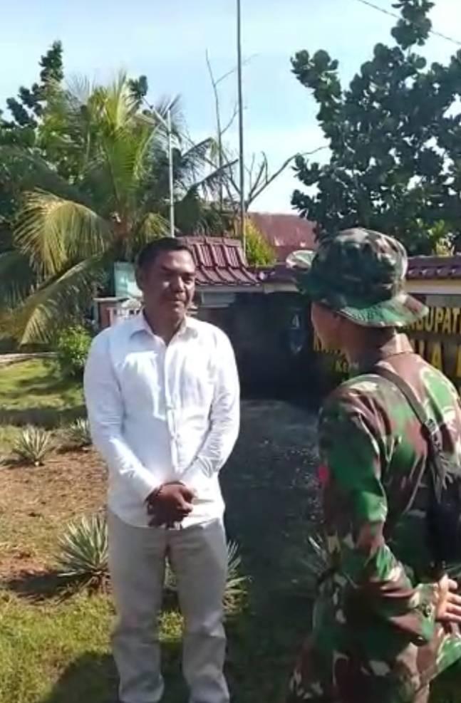 Kegembiraan Warga Desa Api-api Dengan Pembangunan Jalan Oleh Satgas TMMD