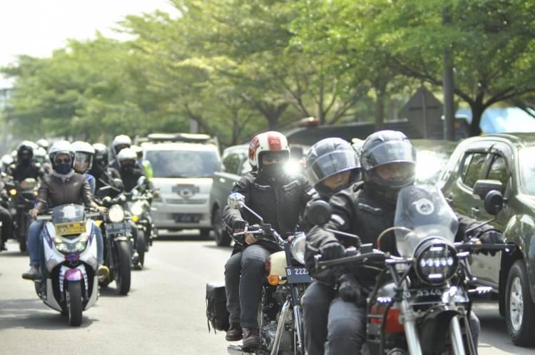 Rombongan Touring Bakti Sosial Kapolda Jabar Serta Forkopimda Provinsi Jawa Barat Singgah Di Kota Banjar