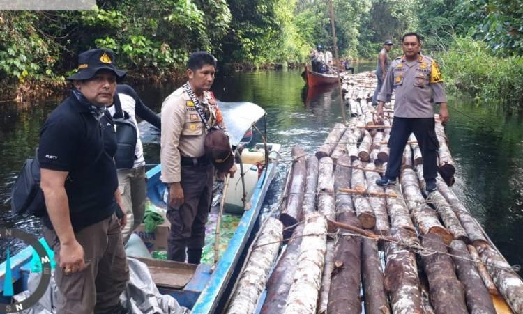 Polres Siak Selidiki Dugaan Tindak Pidana Ilegal Logging