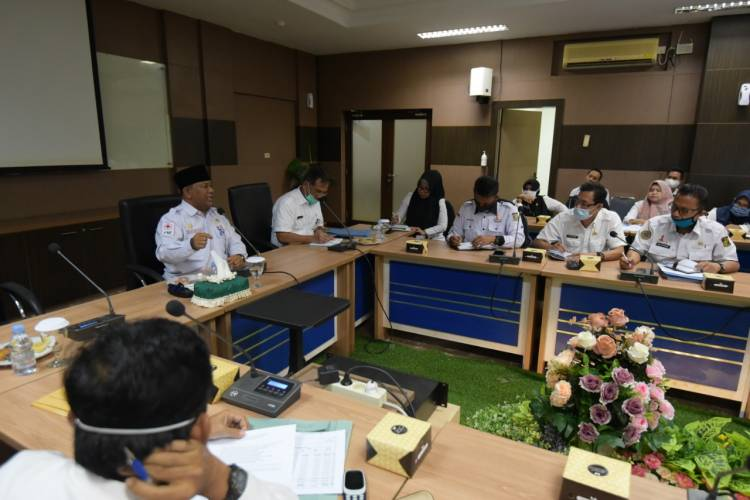 Sekda Pimpin Rapat OPD Gesa Rasionalisasi Anggaran