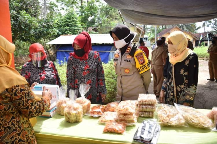 Kapolres Banjar Kunjungi UP2K Desa Neglasari