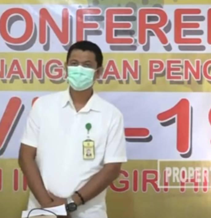 Pasien M, Warga Sungai Rawa Dinyatakan Sembuh Covid-19