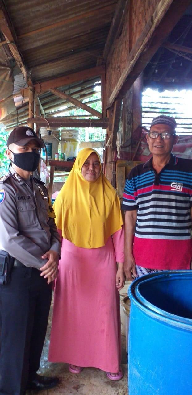 Kapolsek Pataruman Bersama Danramil 1325 Langensari Kunjungi Pelaku UMKM Dukung Ketahanan Pangan