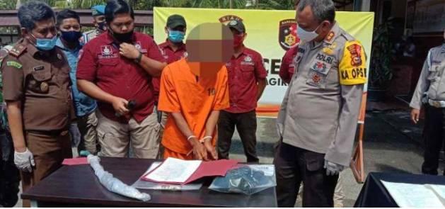 Polres Inhil Hadirkan Anirat(Penganiayaan Berat) Dalam Expose Kasus