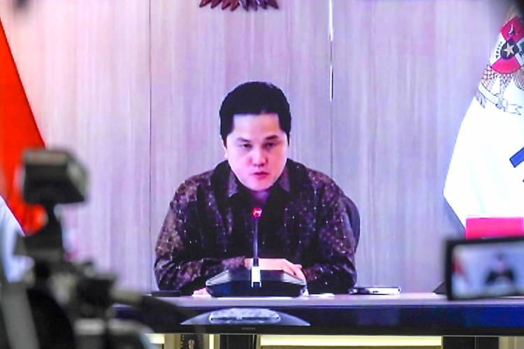 Erick Thohir Turun Langsung Pastikan Dukungan BUMN dalam Penanganan Pandemi Covid-19
