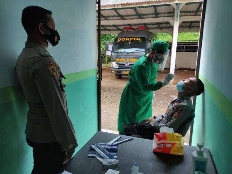 Polres Banjar Secara Rutin Laksanakan 3T Terhadap Personel
