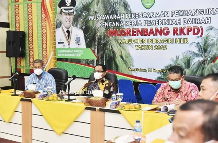 Dipimpin Bupati, Satpol PP Inhil Laksanakan Rakoor Teknis Pengawasan dan Pendidikan Ketertiban Umum