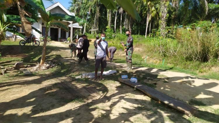 Di Hari Ke 23, TNI Bersama Warga Percepat Pembangunan Box Culvert