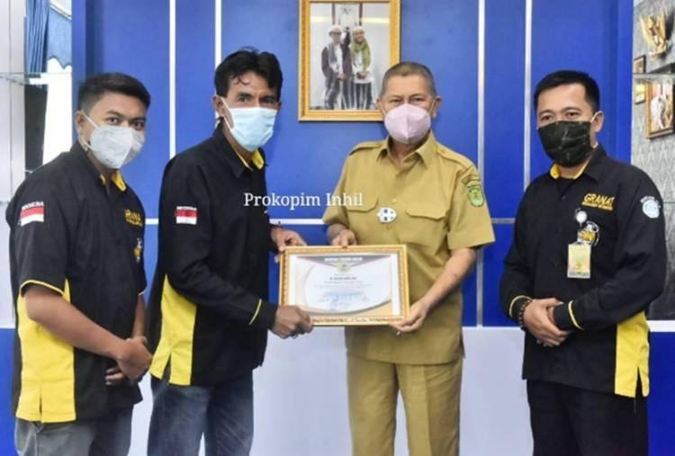 DPC Granat Silaturahim dan Sampaikan Ucapan Terima kasih kepada Wabup Inhil H. Syamsuddin Uti