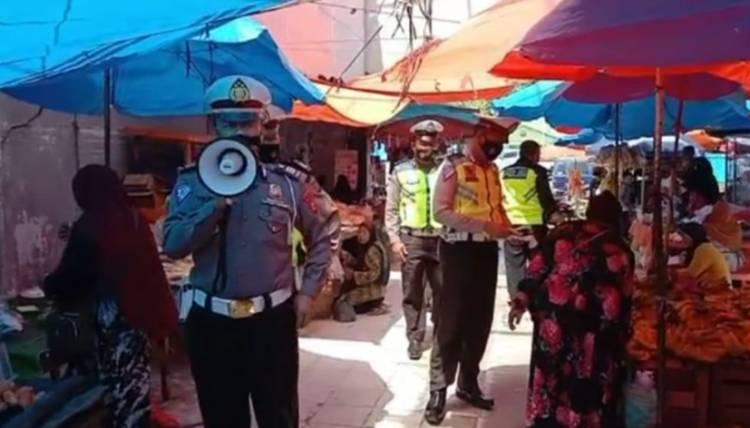 Kasat Lantas Polres Kampar Imbau Masyarakat Patuhi Prokes