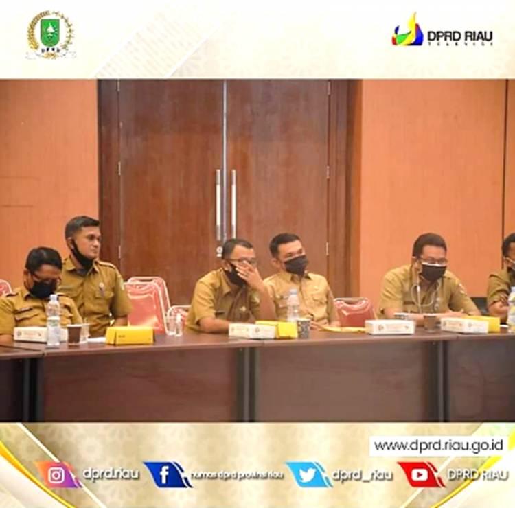 Komisi IV DPRD Riau Hadiri Rapat Bankeu RTLH di Dinas PUPR-PKPP