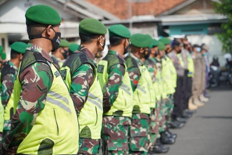 Kapolres Banjar Bersama Walikota dan Kodim 0613 Laksanakan Apel Gabungan Persiapan Patroli Skala Besar